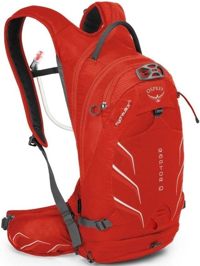 Cyklistický batoh Osprey Raptor 10 - Red Pepper - Spot Shop 2edf9e4ec6