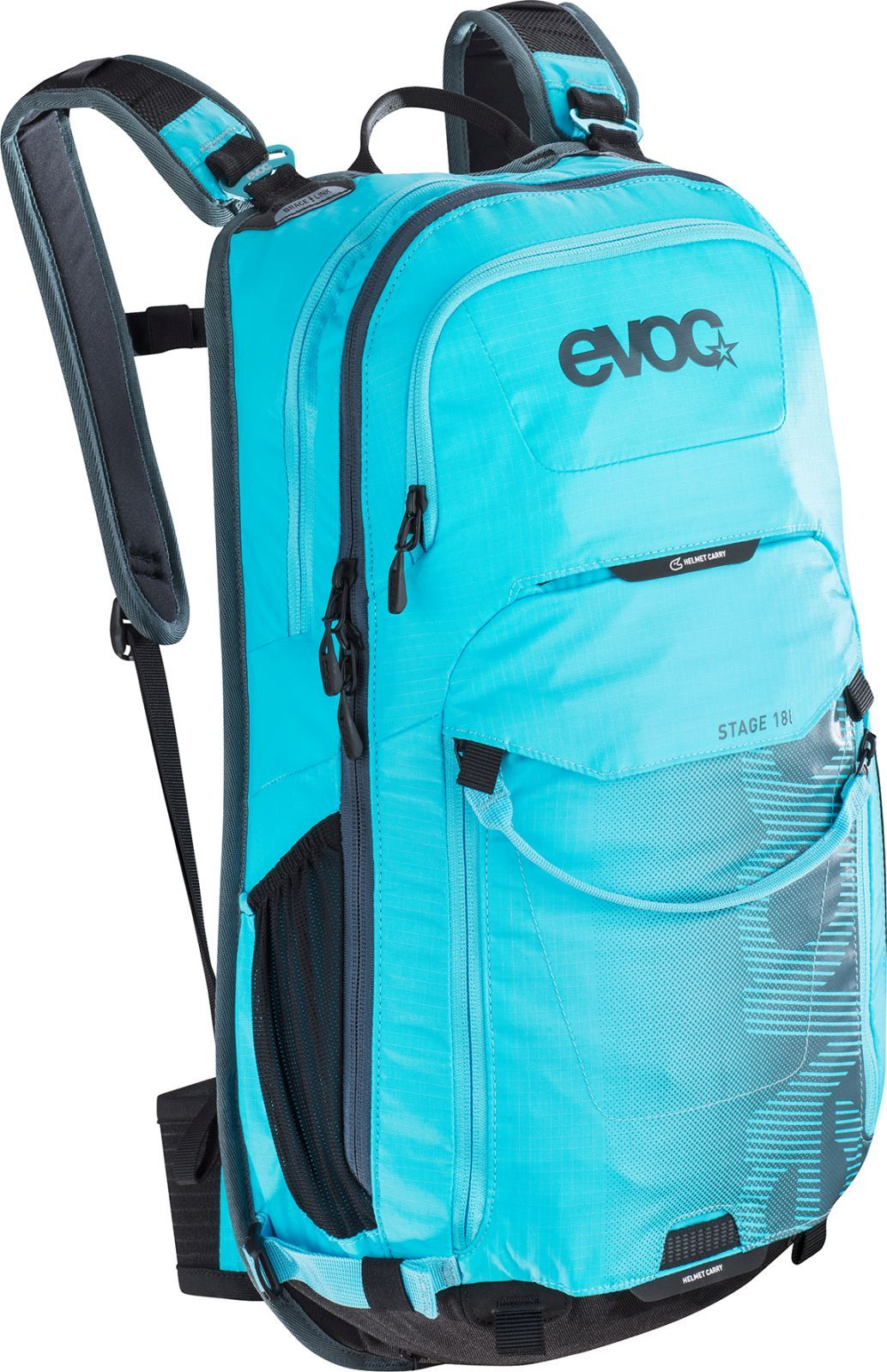 3f03dd8d13 Cyklistický batoh Evoc Stage 18L - neon blue - Spot Shop