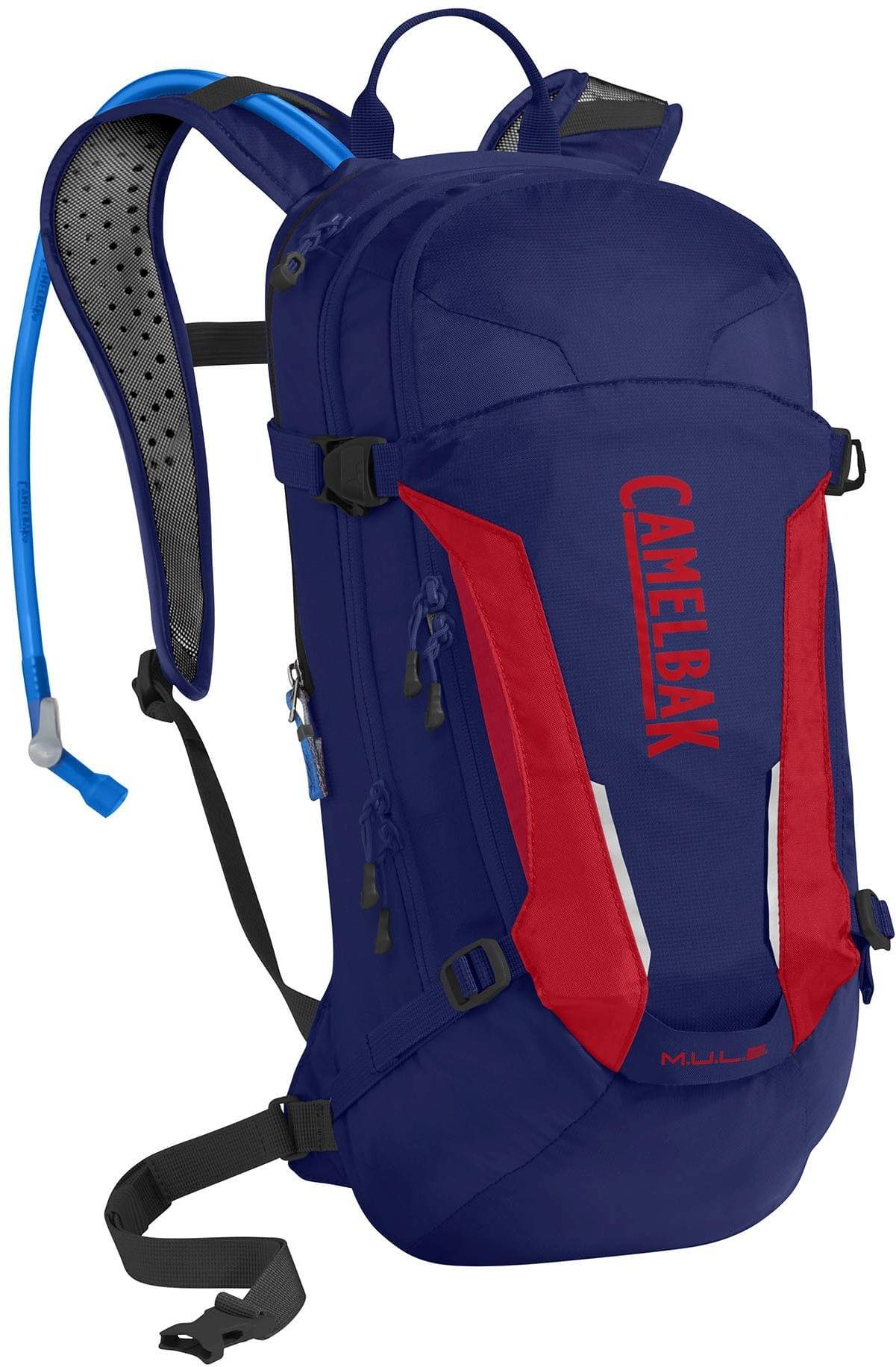 083b1f623a Cyklistický batoh Camelbak Mule - Pitch Blue Racing Red - Spot Shop