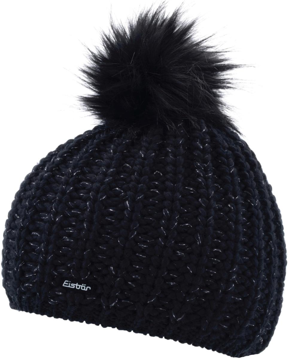 09af4d141f5 Dámská zimní čepice Eisbär Enisa Lux MÜ - schwarz-schwarz - Spot Shop