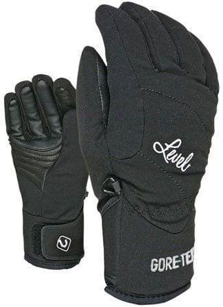 Dámské lyžařské rukavice Level Force W Gore-Tex - black - Spot Shop 0db7c4f5b0