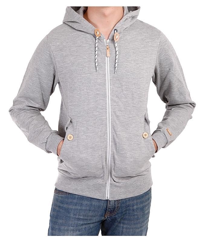 103bacde04 Pánská mikina Iriedaily Hipster Zip Hoody - grey - Spot Shop
