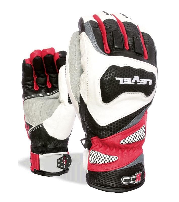 Pánské závodní rukavice Level Race CF - red - Spot Shop 6d63c04464