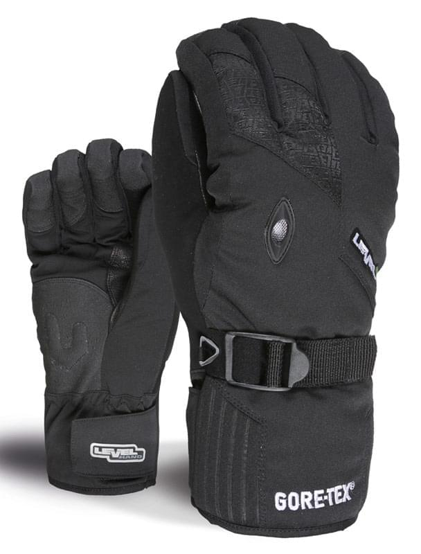 Lyžařské rukavice Level Matrix Gore - black - Spot Shop e07d15926f