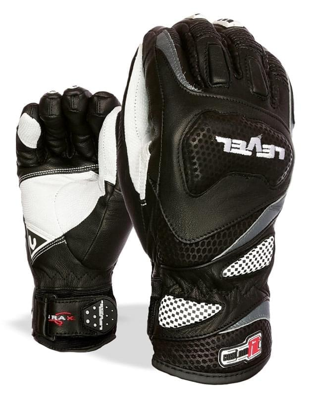 Pánské závodní rukavice Level Race CF - black - Spot Shop 03243a085d