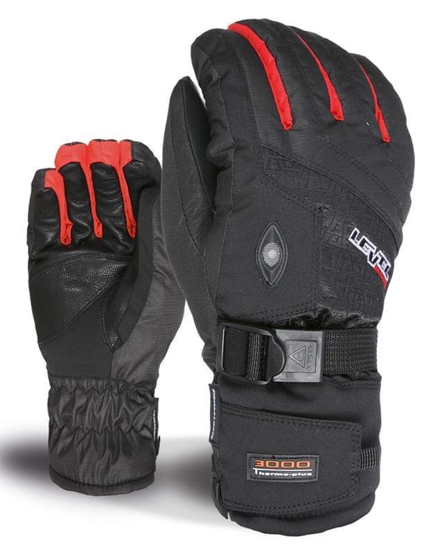 Lyžařské rukavice Level Alpine - red - Spot Shop 38cdc399c1