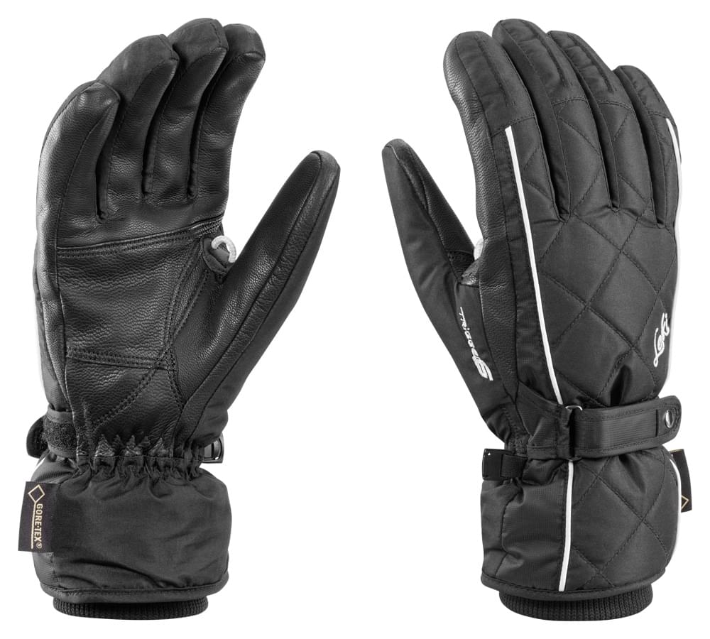 Dámské lyžařské rukavice Leki Arosa S GTX Lady – black - Spot Shop e12c18c552