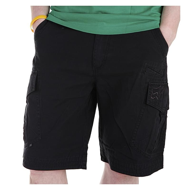 c6db7c53bbe Pánské kraťasy Fox Essex Short - Solid - black - Spot Shop
