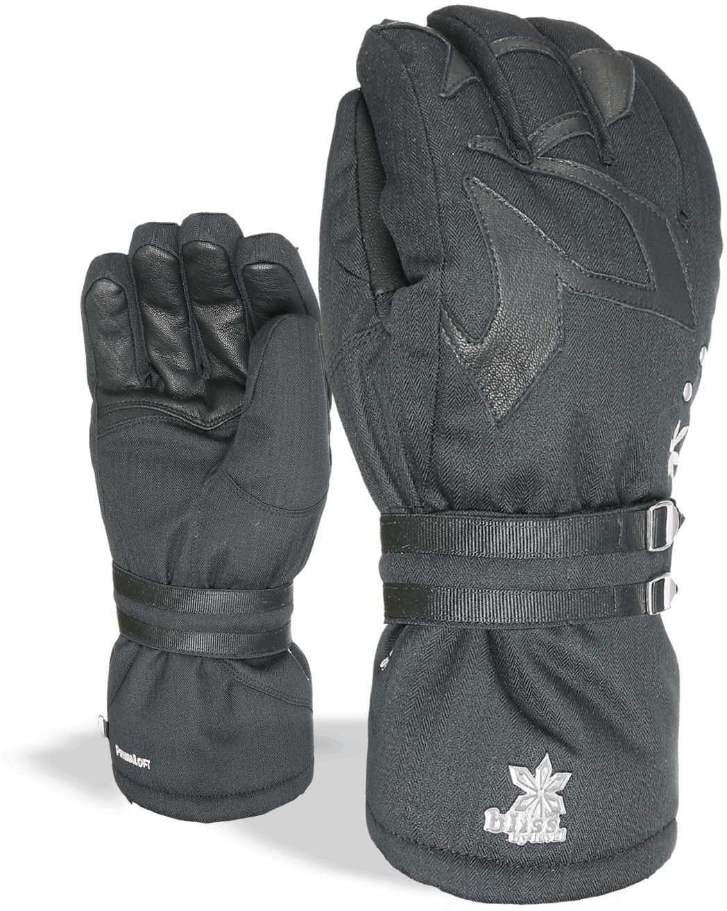 Dámské rukavice Level Bliss Oasis - black - Spot Shop 540a3099a4