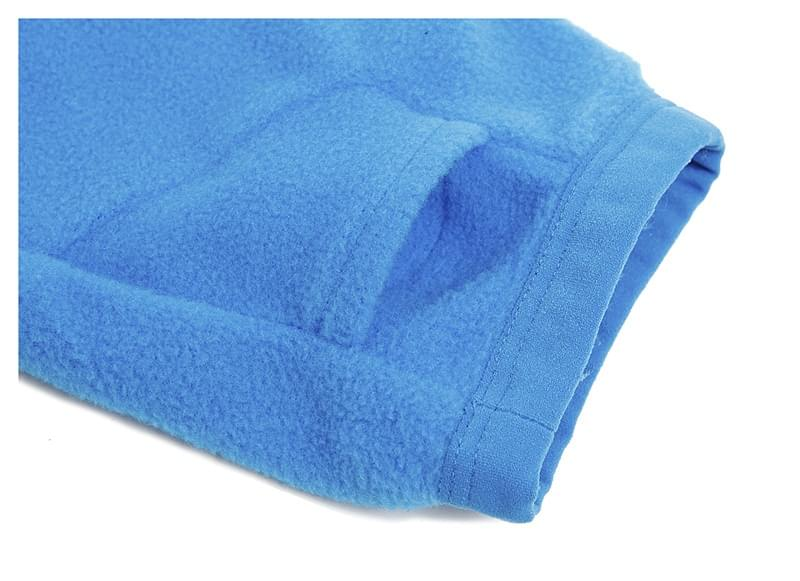 Chlapecká fleecová mikina Quiksilver Aker Youth HZ - pacific blue ... 7f293d315a
