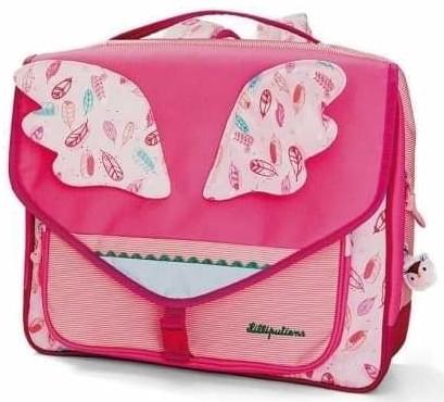 Dětská aktovka do školy Lilliputiens A4 - Louise - Spot Shop d3b3347768