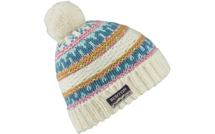 Dívčí zimní čepice Burton Girls Walden Beanie Stout White 49bc419109
