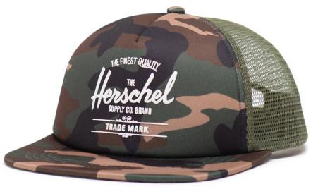 77fac86f278 Dětská kšiltovka Herschel Whaler Mesh Soft Brim Youth - woodland camo