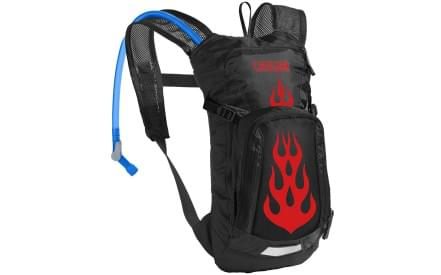 Dětský cyklistický batoh Camelbak Mini - Mule - Black Flames 76b8fb0f39