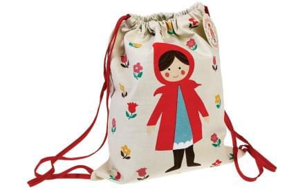 4c81efea81 Dětský stahovací batoh Červená Karkulka