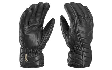c8333c824d1 Dámské lyžařské rukavice Leki Cortina S GTX Lady – black graphite
