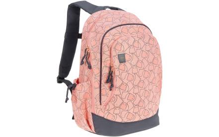 Dětský batoh Lassig Big Backpack Spooky - peach 2e87eb0bf1