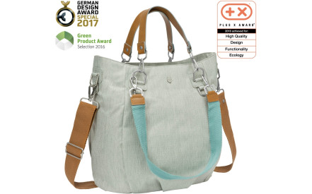 Taška na kočárek Lassig Green Label Mix n Match Bag - light grey c75d6967089