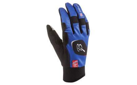 Běžecké rukavice Bjorn Daehlie Symbol - blue a1bb6a2e44