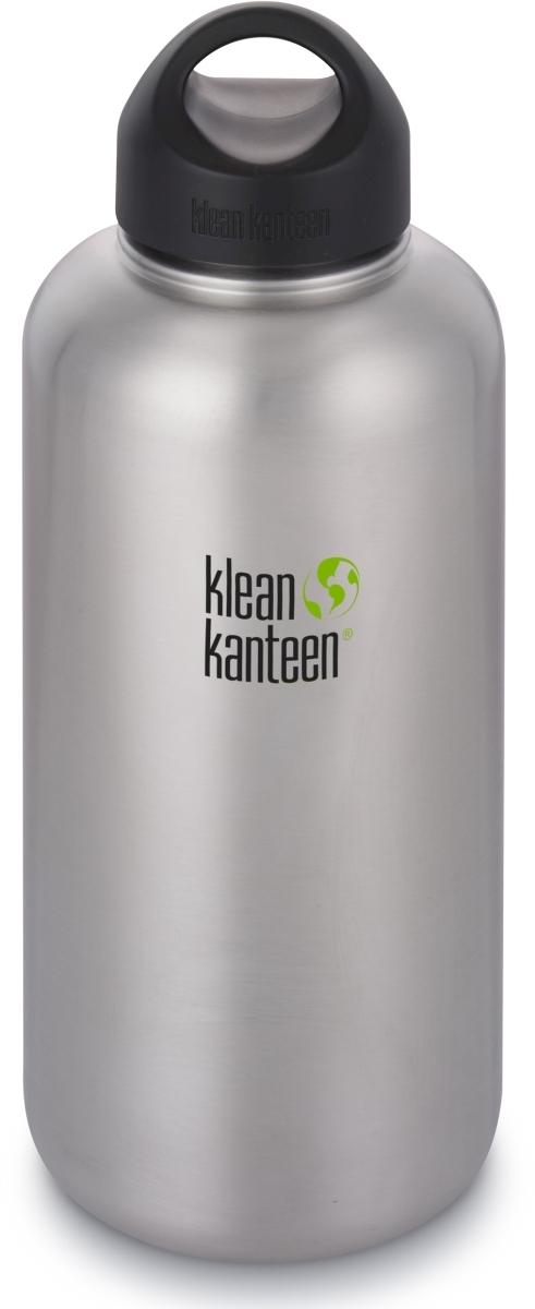 Nerezová lahev Klean Kanteen Wide w Wide Loop Cap - brushed stainless 1900  ml ef88742050f